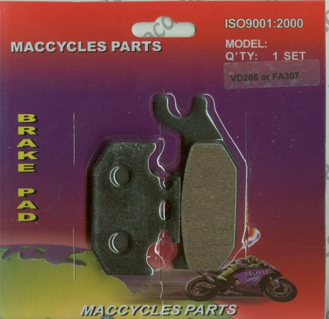 Rear Disc Brake Pads for Bombardier Rally 200 2005 176cc By GOLDfren