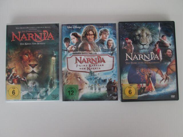 Die Chroniken von Narnia 1-3 Complete Collection, 3 DVD (2012)