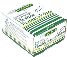 FLETCHER FLEXIBLE FRAMERS POINTS 15mm BLACK x 10000 08-964 PICTURE FRAME CANVAS