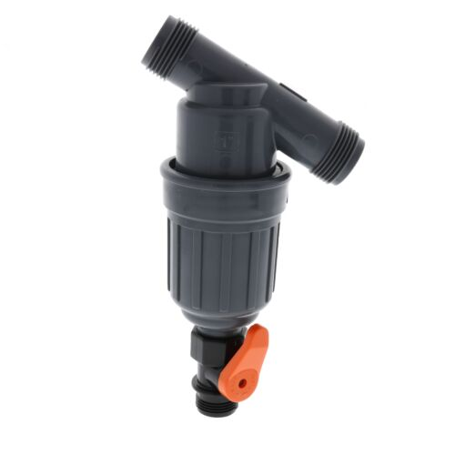 """Amiad Tagline Canister Filter-Thread Size:1/"""" NPT-Filtration:100 Micron"""