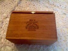 ULTIMATE JR SELECCION  SUMPREMA WOODEN CIGAR BOX Handmade Spanish Honduras