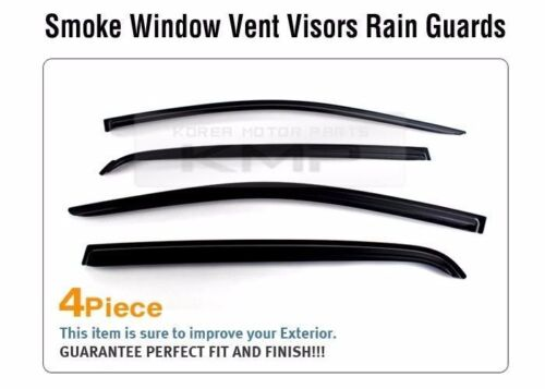 Smoke Window Sun Vent Visor Rain Guards 4P K024 For HYUNDAI 2002-2012 Getz Click