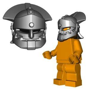 Lego-Medieval-Helmet-Castle-Orc-Soldier-lotr-helm-brickwarriors-minifig-sauron