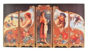 Collectable-Coca-Cola-Advertising-Poster-14-x-7-5-Lot-1867956