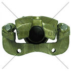 Disc Brake Caliper-Premium Semi-Loaded Caliper Housing and Bracket Front Left