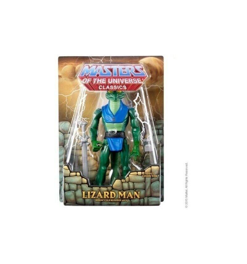 MOTU Classics Maitres de l'univers l'univers l'univers Figurine Lizard Man 7ba498