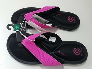 77c0dcfe968e6 Girls Marguerite Sport Memory Foam Flip Flop Sandals - C9 Champion ...