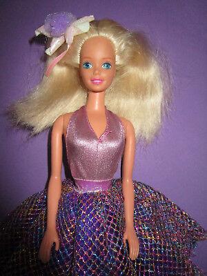 B887-vecchia Barbie Mattel Brillanti Body + Età Glitter-rock + Capelli Gioielli + Scarpe-aarschmuck+schuhe It-it Mostra Il Titolo Originale