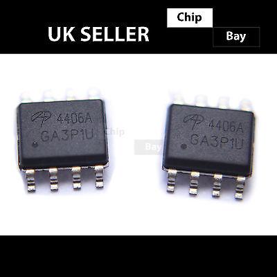 5PCS X AO4482 MOSFET N-CH 100V 6A 8SOIC Alpha