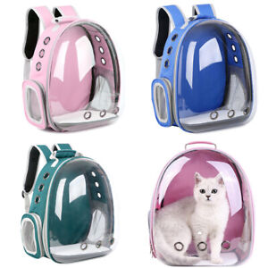 Pet Backpack Breathable Holes Pet Travel Carrier Backpack for Cats and Small Dog