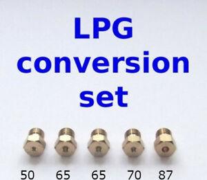 CALOR conversion set propane cuisinière Gaz 5 brûleurs plaque de cuisson Jet//Buse GPL butane