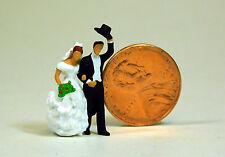 Preiser 1/87 HO Scale Wedding Day Couple Bride & Groom Figure 28091 Just married