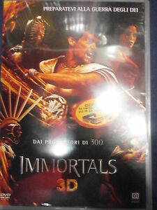 IMMORTALS-DVD-3D-2D-2-DISCHI-visitate-il-negozio-ebay-COMPRO-FUMETTI-SHOP