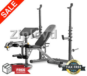 Fantastic Details About Golds Gym Xrs20 With Squat Rack Weight Lifting Bench Press Exercise Workout New Bralicious Painted Fabric Chair Ideas Braliciousco