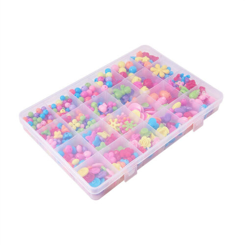 1 Box DIY Jewelry Making Kits For Children Lobster Claw Clasps Acrylic Beads