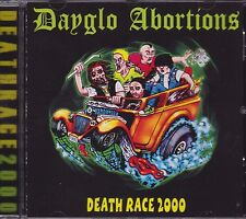 Dayglo Abortions - Death Race 2000 CD - New / Sealed (2016) Hardcore Punk