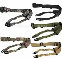 Multi Mission Two Point Rifle Sling Bungee Tactical Paintball Strap 2 Point QD