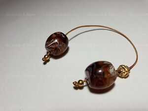Greek-Begleri-mini-komboloi-smoky-brown-barell-18mm-worry-beads-tinas-creations