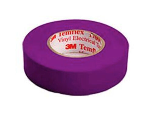 Purple Electical Tape 3M 1700C Violet 3//4 Inch by 66 Feet LOT OF 4 ROLLS