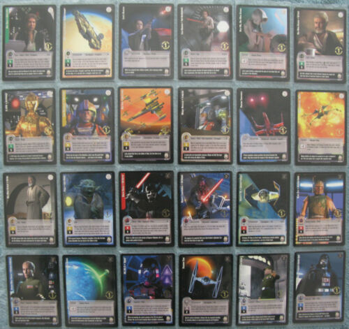Jedi Knights TCG 1st Day Print Premiere Rare Silver /& Gold Foil Cards Part 1//2