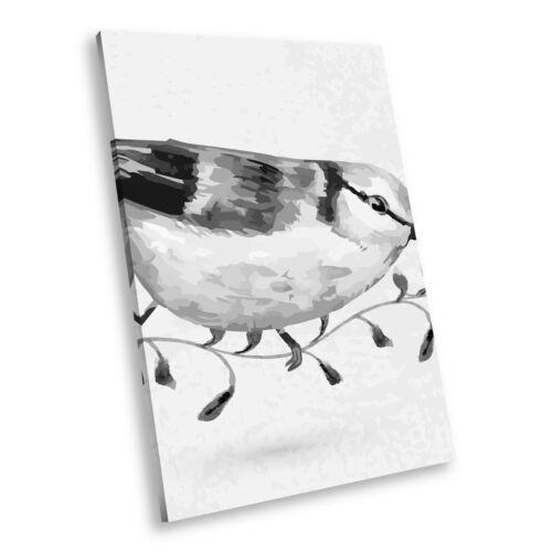entrepreneur.cd A470 Black White Animal Portrait Canvas Picture ...