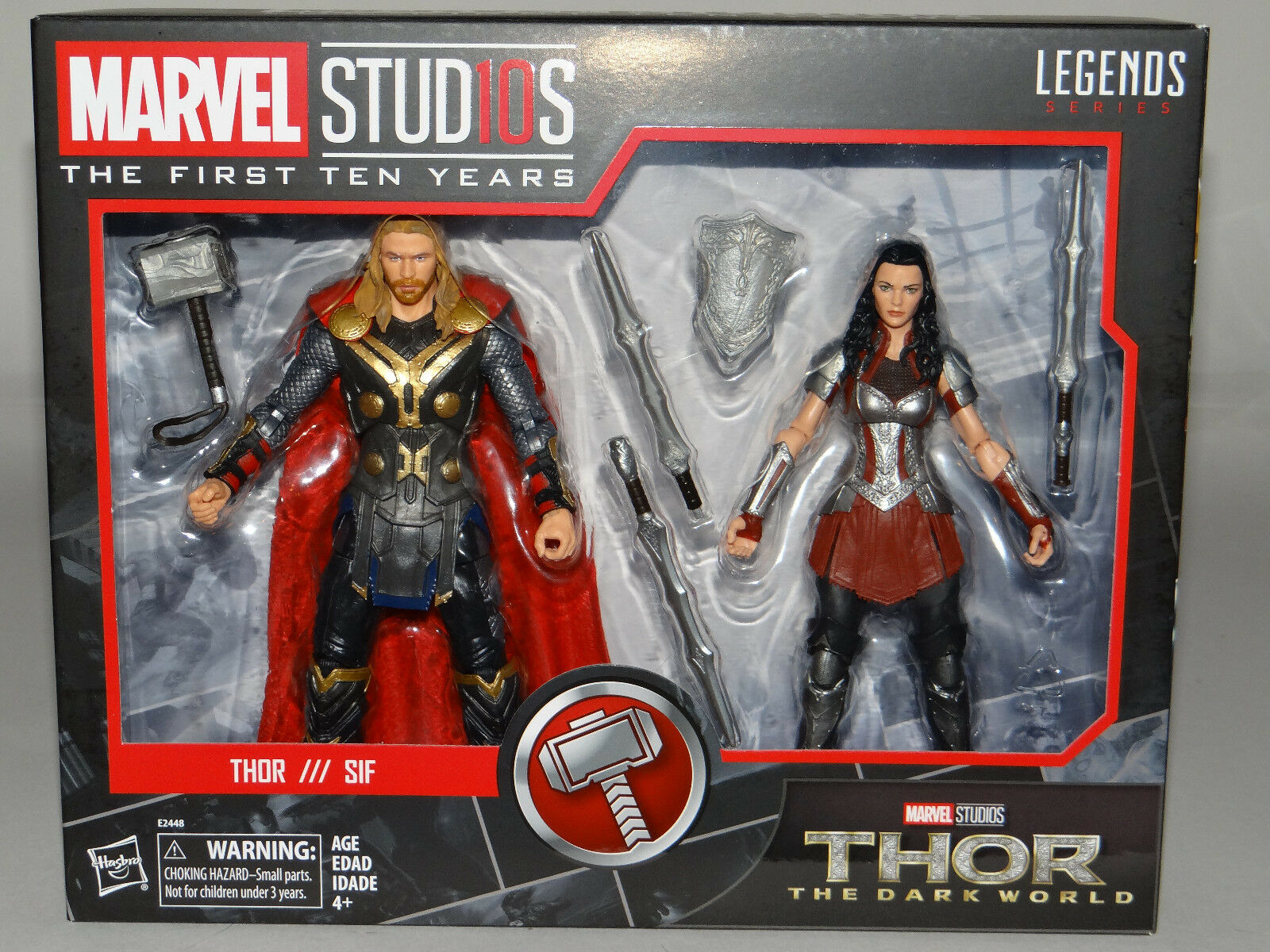 Marvel Legends First Ten Ten Ten Years - THOR & SIF 6  Action Figure set 20dce3