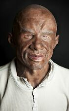 "Silicone Mask Black Man ""Thomas"" Hand Made, Halloween High Quality, Realistic,"
