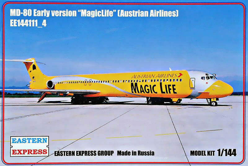 Eastern Express 1  144 McDonnell Douglas MD -80 Early Version Austrian Airlines
