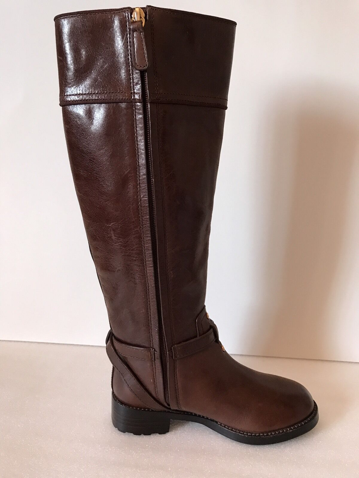 Tory Burch Brown Brown Brown Leather Boots Size 5M e5361e