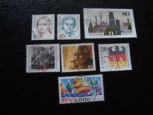 Germany-Rfa-Stamp-Yvert-and-Tellier-N-1136-A-1142-Obl-A3-Stamp-Germany