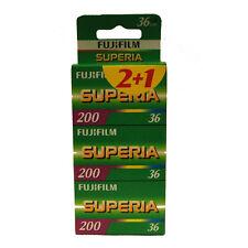 FUJI Superia 200 Pellicola 36exp confezione da 3