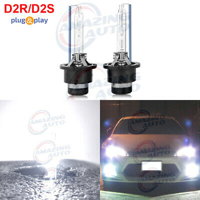 35W Headlight Bulbs Kawasaki Suzuki ATV Clear White Halogen High Low Beam