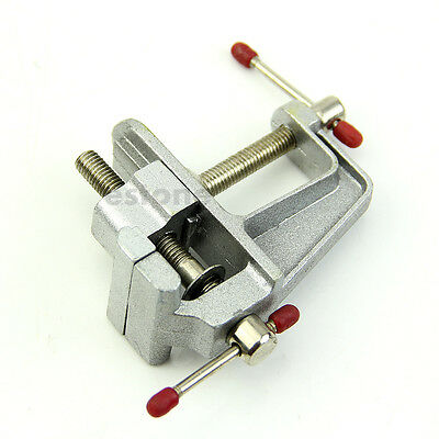 New Mini Aluminum Vise Bench Table Swivel Lock Clamp Vice Craft Jewelry Hobby