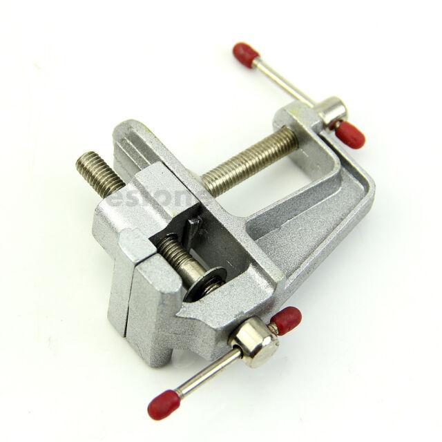 Mini Aluminum Bench Table Swivel Lock Clamp Vice Craft Jewelry Hobby Vise Newest