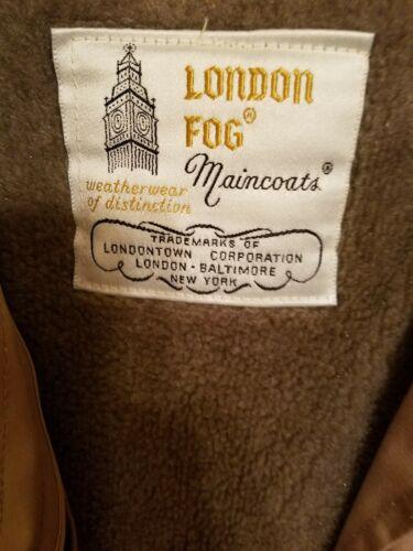 London Tan 10 Femme Coz Fog Nwot Trench Sz dw0pYFq