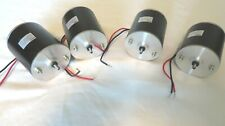 Lot Of 4 12v Dc Motor 32 115hp 2150rpm 75a Reversiblevariable Speed New