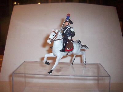 Cromoplasto? Carabiniere A Cavallo Tempi Puntuali