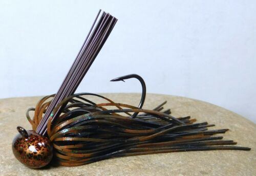 Bob4Bass Pro Skirted Weedless Football Jig Big Texan B4B030
