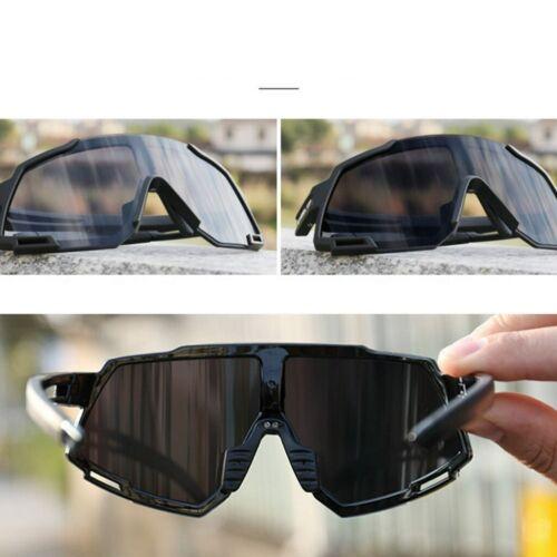 UV 100/% Sportbrille Radbrille Fahrrad Sportstyle Sonnenbrille Polarisierte DHL