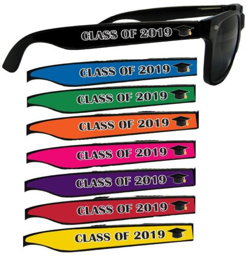 Class of 2019-2022 Solid Choose Color Sunglasses Graduation Senior Gift S1JT