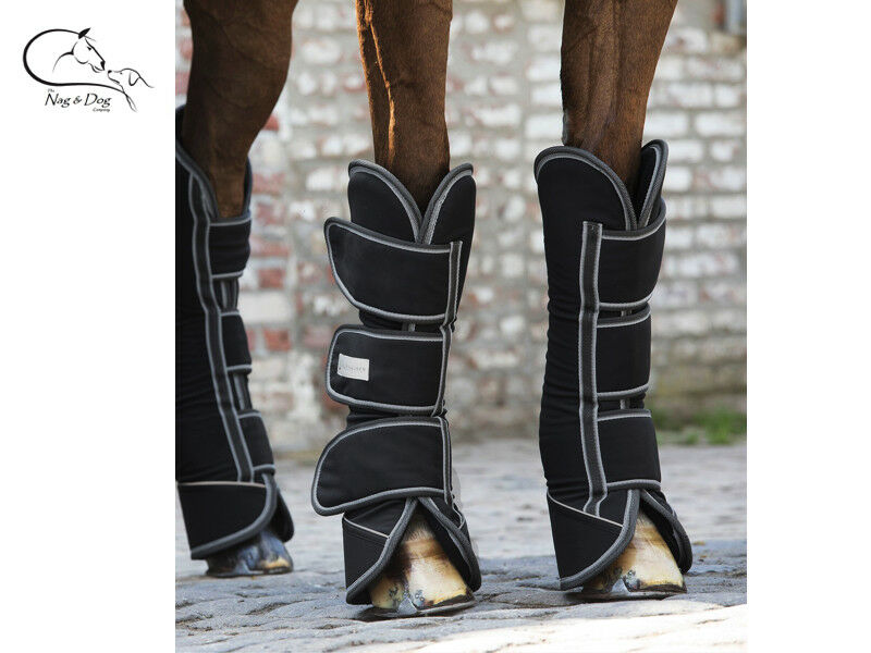 Waldhausen Of Trailer Horsebox Full Protection Long Travel Stiefel-Set Of Waldhausen 4 FREE P&P d46434