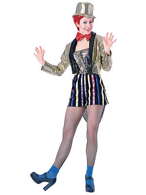 Rocky Horror Picture Show Columbia Halloween Outfit Fancy Dress Adult Costume