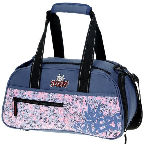 Sporttasche Syderf Mädchen Kindertasche Kinder Sport Tasche Blume Miles Fleur 24