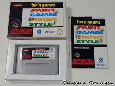 Super Nintendo / SNES Game: Fun 'n Games [PAL] (Complete) [UKV]