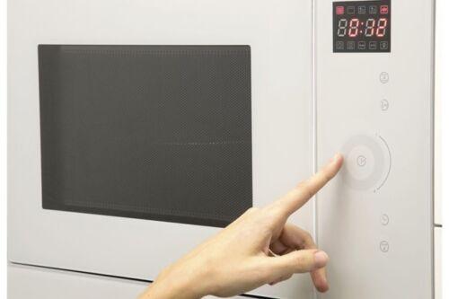 Cata&Can Roca Einbau Mikrowelle 25 Liter Mikrowellenherd LED Hammerpreis  l6n8H