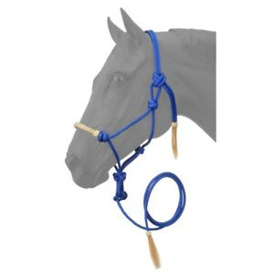 Tough-1-Rawhide-Noseband-Rope-Halter-with-10-Foot-Lead-Rope-Adjustable