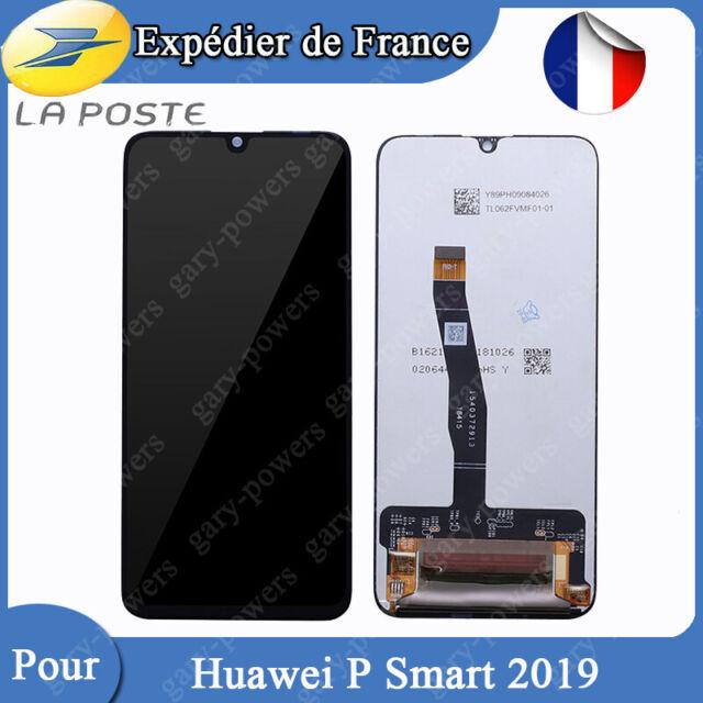 ECRAN LCD + VITRE TACTILE ASSEMBLÉS POUR HUAWEI P SMART 2019 NOIR