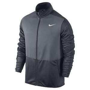 Nike dri fit zip jacket black