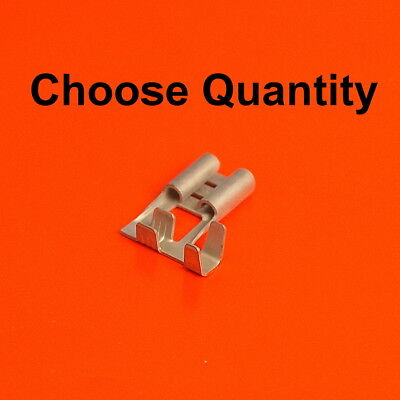 Electrical Crimp Fork Terminals From 0.25mm To 6.0mm Gauge  Various Qty