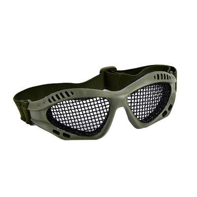 LóGico Outdoor Paintball Goggle Hunting Airsoft Metal Mesh Glasses Eye Protection Bb úLtimo Estilo
